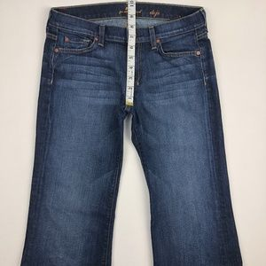 7 for all Mankind Jeans - 7 For all Mankind Dojo Flare Jean 28x34